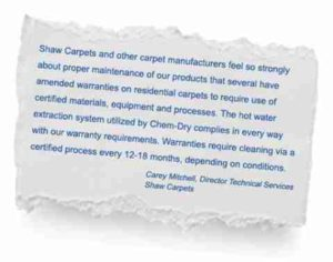 chem-dry-industry-recommendation-shaw-carpets